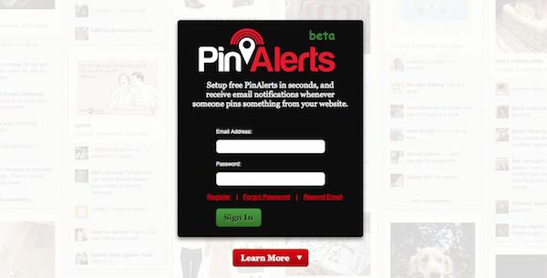 Pin alerts
