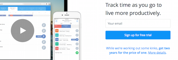 Hours - employee time tracking software