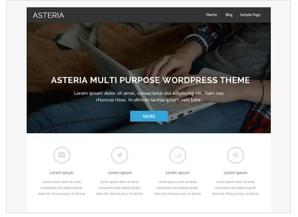 Temas de wordpress gratis para crear tu portfolio freelance