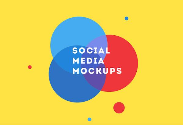 Social Media Mockups