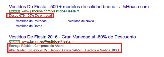Descripcion adwords