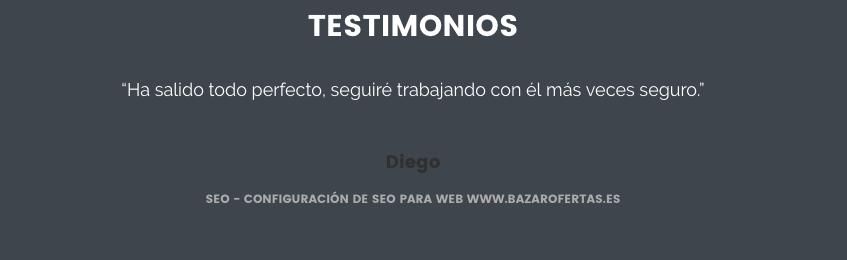 diseño de una web
