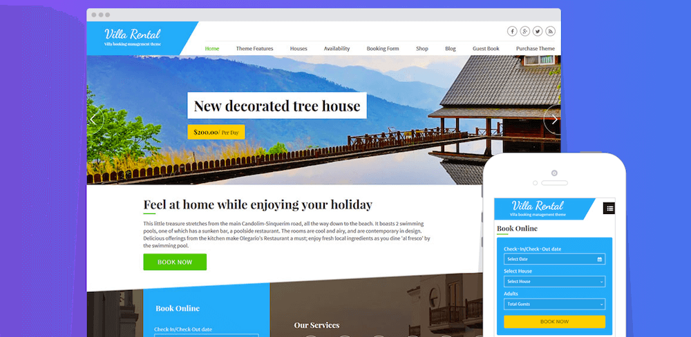 crear web hotel