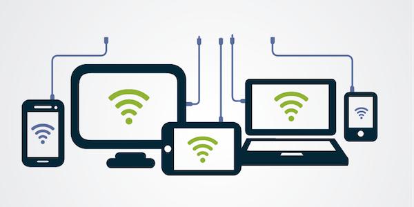 Internet cloud computer connections