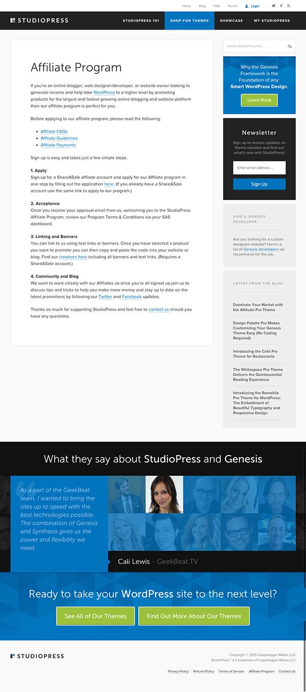 Studiopress-Affiliate-Program-Landing-Page