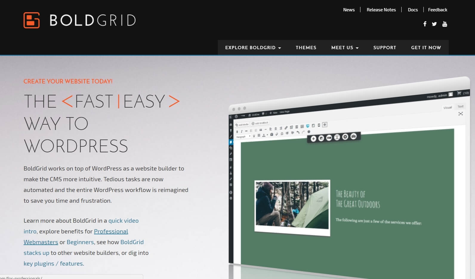 constructor web