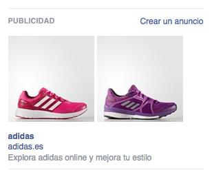 campana facebook adidas