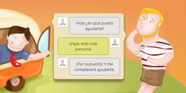 chat tienda online