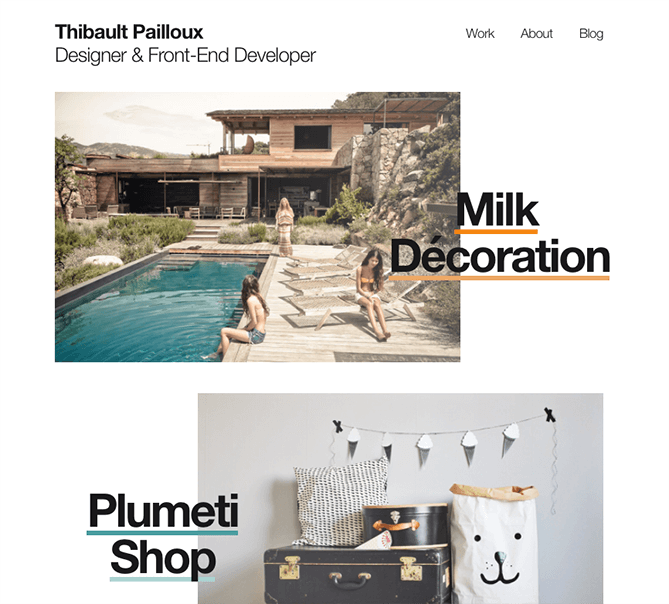 tendencias diseño web