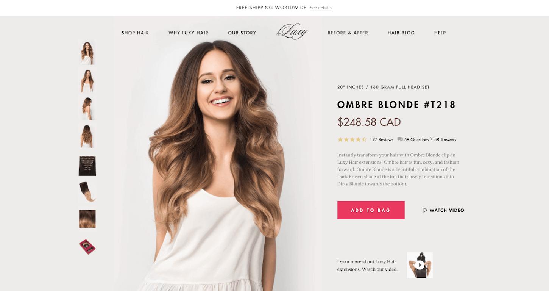 paginas de producto