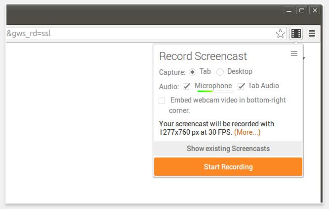 screencast