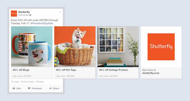 Resultado de imagen para anuncio facebook varios productos