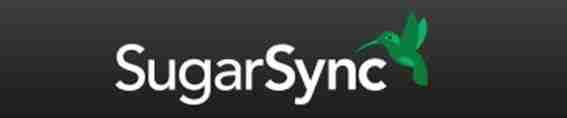 SugarSync. Almacenamiento
